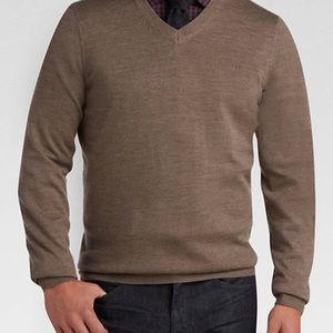 Turnbury Men's Marino Wool Crewneck Sweater L